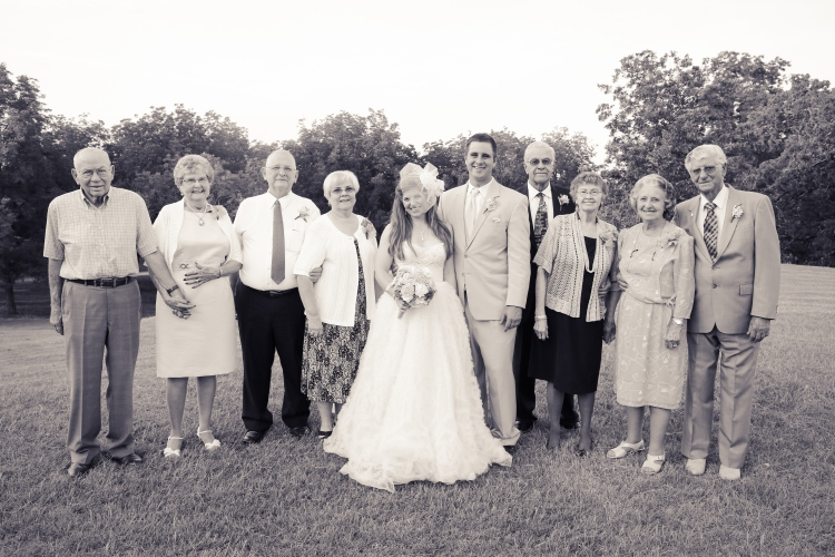 Strehlow Wedding Grandparents